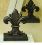Regal Fleur de Lis Bookends by SPI Home