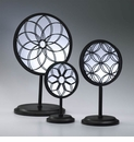 Spirograph Stand Mirrors by Cyan Design