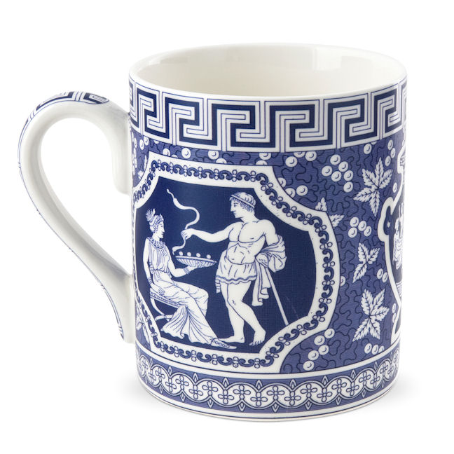 Blue Room Greek Mug
