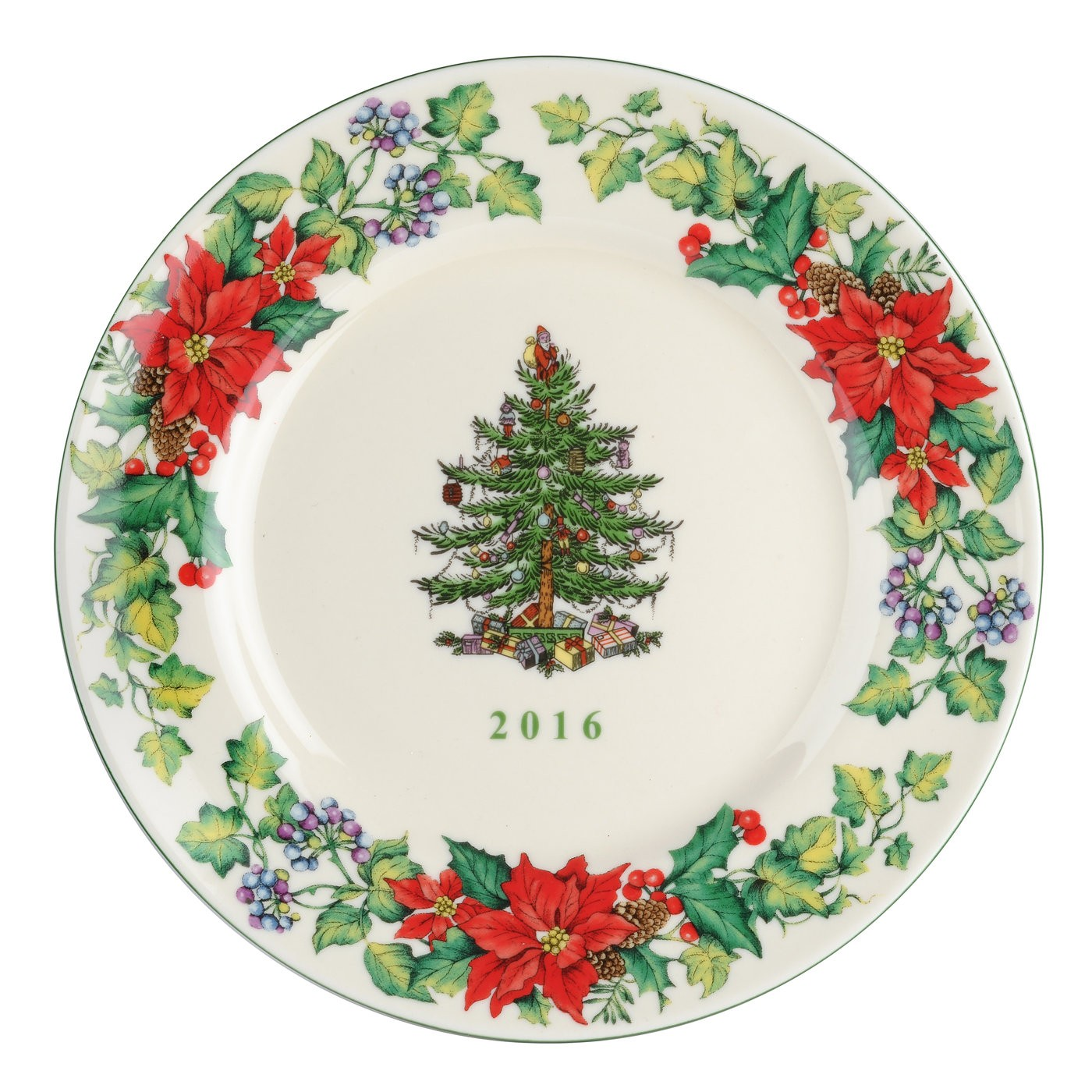 Spode Christmas Tree 2016 Collector Plate $29.99, You Save ...