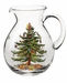 Spode Christmas Tree 96 Ounce Glass Pitcher