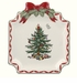 Spode Christmas Tree Gold Ribbons Canap� Plate