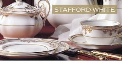 Spode Stafford White Bone China - Save 30%