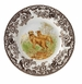 "Spode Woodland Hunting Dogs 8"" Salad Plate - Golden Retriever"