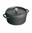 Staub Cookware Round Dutch Oven - 5QT - Black Matte