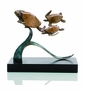 Steady Swimmers Turtle Trio Sculpture by SPI Home