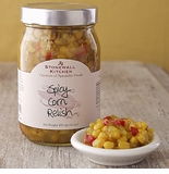 Stonewall Kitchen Spicy Corn Relish 16oz Jar