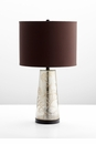 Surrey Crackle Mercury Glass Table Lamp by Cyan Design