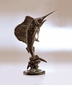 Tail Walker Sailfish Sculpture by SPI Home