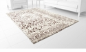 Toungoo Brown Rug Polyester Ivory 9.6'x 7.6' by Cyan Design