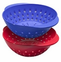 Tovolo Mini Melamine Berry Colander - Red