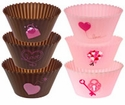 Tovolo Spatulart Printed Cupcake Cups  Valentines
