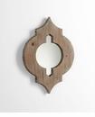 Turk Decorative Wood Wall Mirror by Cyan Design