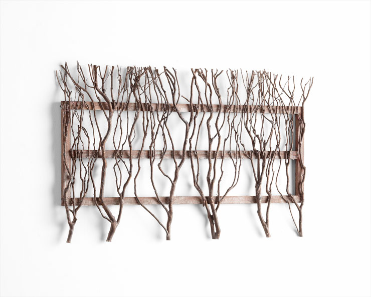 twigs wall decor by cyan design twig tree wall decor diy recycled ideas recyclart