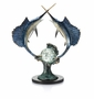 Underwater Duel Sailfish Sculpture by SPI Home