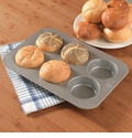 USA Pan - Mini Round Cake Panel Pan (6 Well)