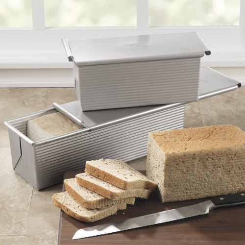how to use a pullman loaf pan