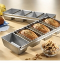 USA Pan - Strapped Mini Loaf Pan Set