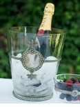 Vagabond House Glassware with Pewter Accents & Barware