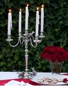 Vagabond House Pewter Candlesticks & Candle Snuffers