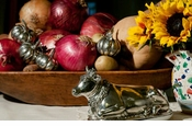 Vagabond House Pewter Salt & Pepper Sets, Butter Dishes, Measuring Cups & Napkin Rings
