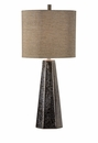 Vietri Antonella Textured Bronze Ceramic Table Lamp