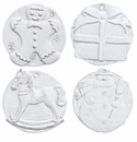 Vietri Bellezza Holiday Assorted Seasonal Ornaments