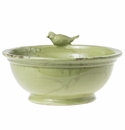 Vietri Birds Large Footed Planter