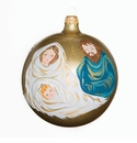 Vietri Croce Nativity Scene Ornament