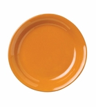 Vietri Fantasia Orange Salad Plate