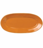 Vietri Fantasia Orange Small Oval Platter