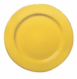 Vietri Fantasia Yellow Service Plate or Charger Plate