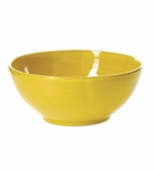 Vietri Fantasia Yellow Small Serving Bowl