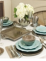 Vietri Incanto Metallic Dinnerware