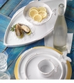 Vietri Lastra Fresh Fish Accent Dinnerware