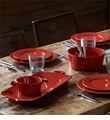 Vietri Lastra Red Dinnerware
