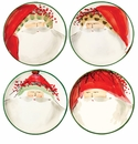 Vietri Old St. Nick Assorted Canape Plates