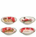 Vietri Old St. Nick Assorted Oval Bowls (Set of 4)