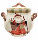 Vietri Old St. Nick Biscotti Jar Replacement Lid (Jar Not Included)