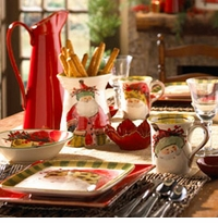 Vietri Old St. Nick Dinnerware