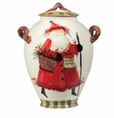 Vietri Old St. Nick Medium Canister Replacement Lid (Canister Not Included)