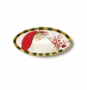 Vietri Old St. Nick Small Oval Tray