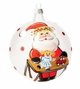 Vietri Old St. Nick With Worktable Ornament (in clear box)