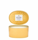Voluspa Incognito 2 Wick Candle In Oval Tin Candle
