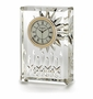 "Waterford Crystal Lismore Clock 4 1/4"" H"