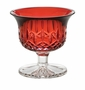 Waterford Crystal Lismore Crimson 4� Small Footed Bowl