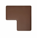 "Wellness Mats Anti-Fatigue Floor Mat 2' Corner Mat Brown 90� Corner - 24""W"