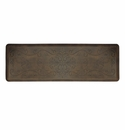 "Wellness Mats Anti-Fatigue Floor Mat Entwine Antique Dark - 72""L x 24""W"
