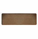 "Wellness Mats Anti-Fatigue Floor Mat Entwine Antique Light - 72""L x 24""W"