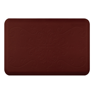 Wellness Mats Anti Fatigue Floor Mat Entwine Burgundy 36